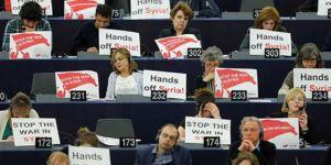 Avrupa Parlamentosu Üyelerinden Macron'a Suriye Protestosu