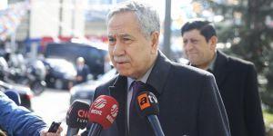 Arınç, Erdoğan'la görüşmek üzere AK Parti Genel Merkezi'nde