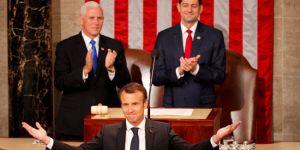 Macron: İran'la nükleer anlaşmayı terk etmeyin