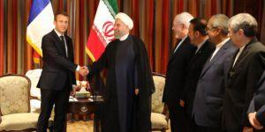 Macron ve Ruhani nükleer konusunda anlaştı
