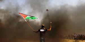 Gazze'de uyarı cumasında 1 şehit 448 yaralı!