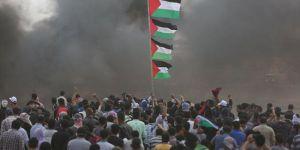 Gazze'deki gösterilerde 9 Filistinli şehit oldu