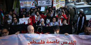 New York'ta 'Kudüs' protestosu