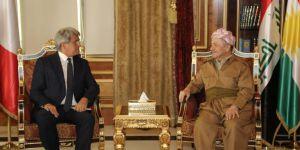 Barzani: Kürtler'in 3 prensibi var