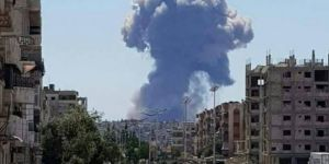 Suriye'de askeri üste patlama