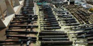 Humus'da IŞİD'e Ait Silah Deposu Ele Geçirildi