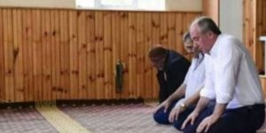 Bozdağ: İnce niye cami cami geziyor?