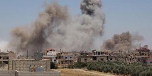 Esed rejiminin Dera'ya şiddetli saldırıları sürüyor
