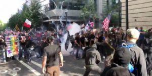 ABD'de HALK ARASINDA çatışma