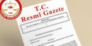 Cumhurbaşkanı seçimine ilişkin karar Resmi Gazete'de