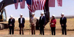 ABD konsolosluk binasının temeli atıldı