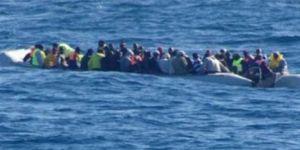 Libya açıklarında 156 göçmen daha kurtarıldı