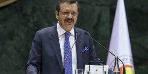 TOBB Başkanı: Yaptırımlar Türkiye'ye zarar verecek
