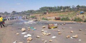 Etiyopya'da askeri helikopter düştü: 18 ölü