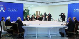 Putin, Erdoğan ve Ruhani, Suriye'nin kaderinin belirleneceği Tahran'da bir araya geldi