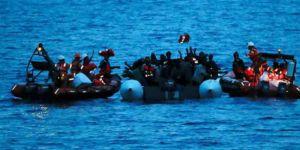 Libya açıklarında göçmen teknesi battı: 100 ölü
