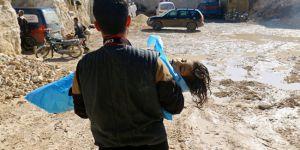 İdlib'de kimyasal saldırı için görüntü çekimine başlandı