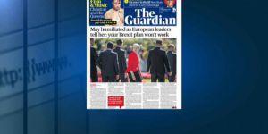 İngiliz basını: Başbakan May Avusturya'daki AB zirvesinde 'rezil oldu'
