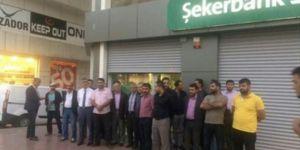 Van'da yüzlerce aile Şekerbank'ın hukuksuzluğunun mağduru!