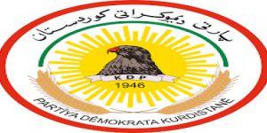 KDP'den Zehir Zemberek Cumhurbaşkanlığı Açıklaması