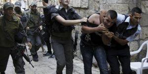 İşgal güçlerinden Filistinlilere gözaltı