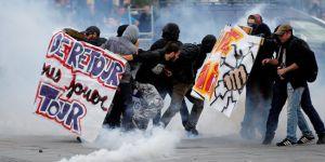 Fransa Karıştı 100 kentte olaylar var