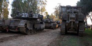 İsrail'den Gazze sınırına askeri yığınak