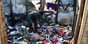 Arakanlı Müslümanların kampında yangın çıktı