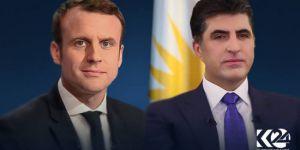 Macron: Kürt partilerinin hükümete katılımı önemli