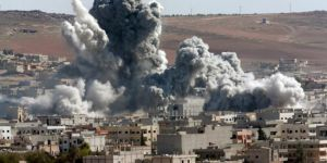 ABD Deyr ez-Zor'da yine sivilleri bombaladı
