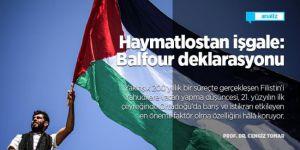 Haymatlostan işgale: Balfour deklarasyonu/Cengiz TOMAR/Analiz