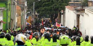 Kolombiya'da protesto eylemi büyüdü