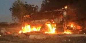 Gazze'de direniş 80'den fazla füzeyle karşılık verdi