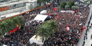 Tunus'ta 700 bin kamu görevlisi greve gitti