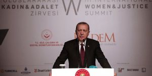 Erdoğan: Kültür köklerimizde cinsiyet ayrımcılığı yoktur