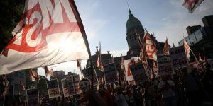 Arjantin'de G20 protestoları