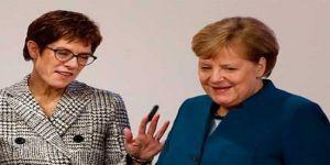 Seroka nû ya partiya Angela Merkel diyar bû
