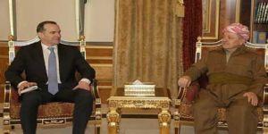 Barzani ile McGurk Suriye'yi görüştü