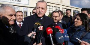 Erdoğan: Suriye Münbiç'te psikolojik eylem içinde