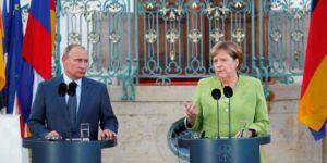 Merkel ve Putin Suriye'yi görüştü
