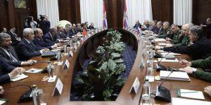 Çavuşoğlu: Rusya ve İran'la işbirliğine devam edeceğiz