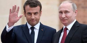 Macron'dan Putin'e DSG mesajı