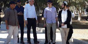 İsrail Tarım Bakanı'ndan Mescid-i Aksa'ya baskın