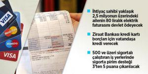 Erdoğan: İhtiyaç sahibi ailelerin 80 liralık elektrik faturasını devlet karşılayacak