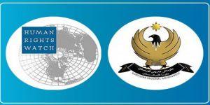 Erbil'den HRW'nin iddialarına yalanlama