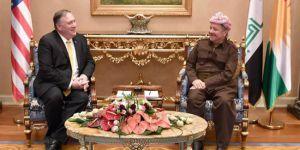 Başkan Barzani, Pompeo ile görüştü