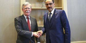 Bolton: ABD ile Türkiye'nin askeri görüşmeleri sürecek