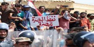 Basra Sokaklara Döküldü