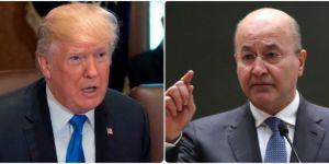 Berhem Salih bo Trump: Mafê Amerîkayê nîne ji Iraqê çavderiya Îranê bike