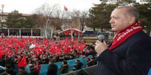 Erdoğan: Afrin'de leblebi çekirdek mi kullandık?